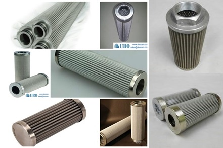 Stainless steel indufil oil filter cartridge