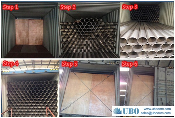 SS304 316 wedge wire pipe screen strainer for control sand water well oil well