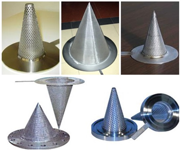 CONICAL LINE STRAINERS
