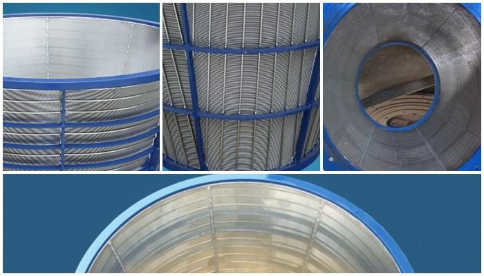 vibratory centrifuge basket