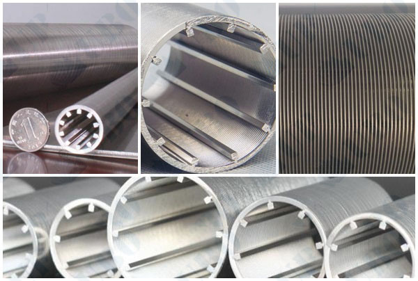 Stainless Steel wedge wire Screw Press Screen