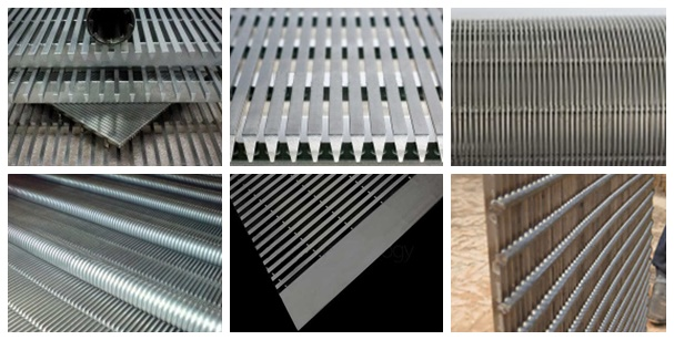 swimming pool stainless steel wedge wire grate