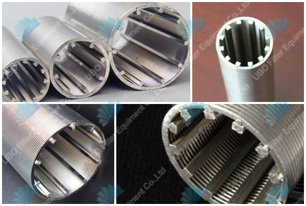 drilling spiral welding water well screen tube