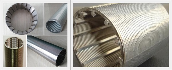 Screen Pipe continuous slot wedge rod base wire wrapped screen