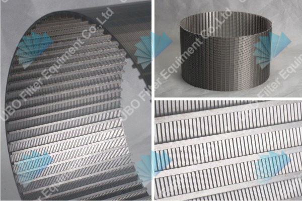 V-Shaped Stainless Steel Water Well Screen for industrial water