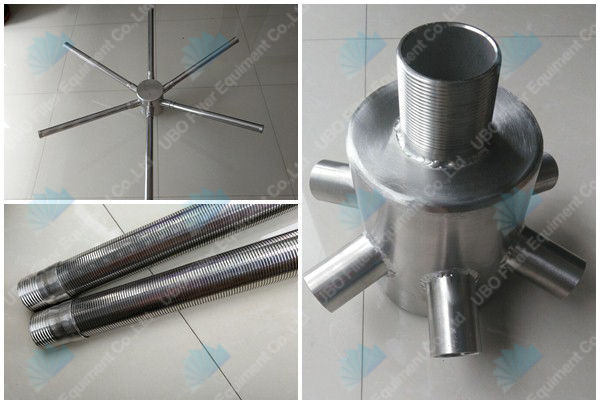 hub radial laterals for exchange resin