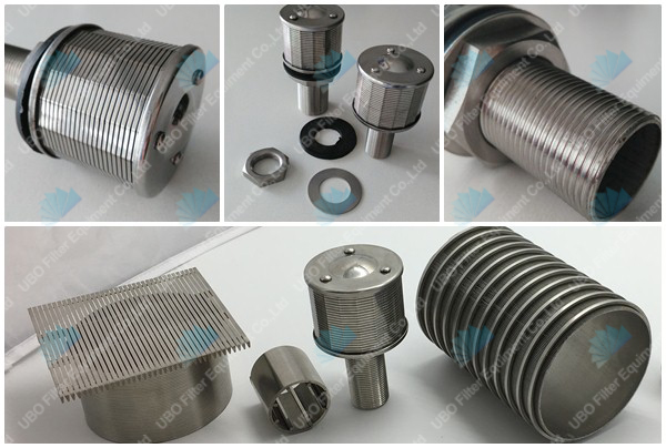 Wedge Wire Screen Filter Nozzle