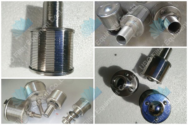 NPT Thread<a href='http://www.ubooem.com/Wedge-Wire-Screen-1-8.html' target='_blank'> Wedge Wire Screen</a> Nozzle Strainers Filter Nozzles