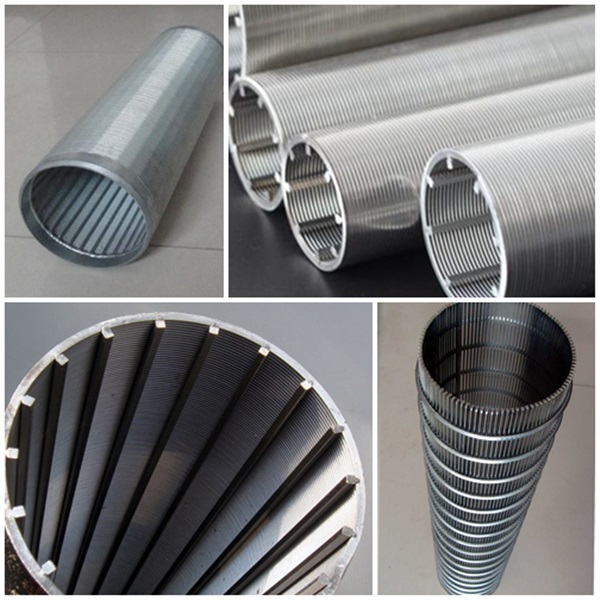 Johnson Industry Wedge Wrapped Wire Screen Filter Cylinders