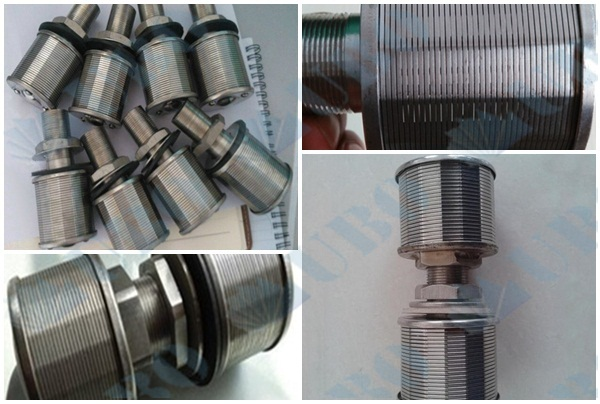 SS wire filter nozzle for water treatment