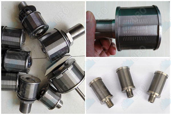 Wedge wire screen stainless steel filter nozzles filter strainer industrial