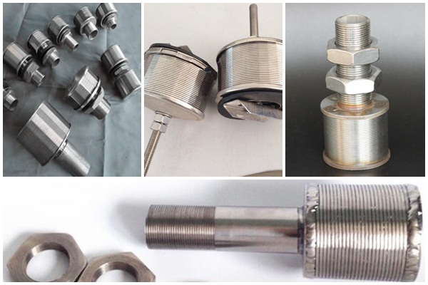 Stainless steel v wire screen nozzle filter for filtration tank