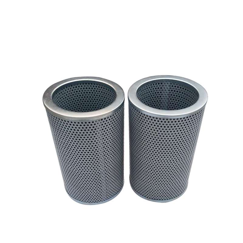 Perforated metal screen strainers